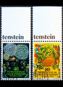 Lichtenšteinas, pilna serija ScNr 708-709 Used(O)