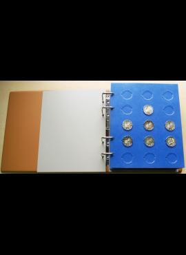 Albumas 2 eurų monetoms be kapsulių SAFE Compact Luxus TOPset 7870-7854