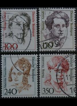 Vokietija, pilna serija MiNr 1390-1393 Used(O)