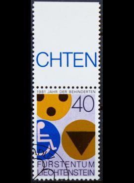 Lichtenšteinas ScNr 712 Used(O)