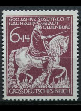 Vokietijos Reichas, MiNr 907 MLH*