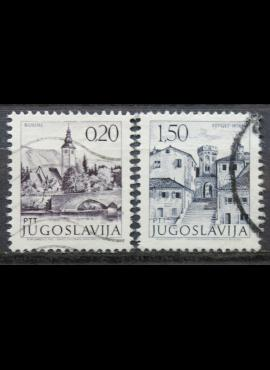 Jugoslavija ScNr 1065, 1073D Used(O)