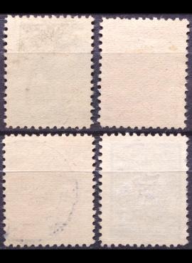 Vokietijos Reichas, Čekijos okupacija, pilna serija, MiNr 42-50 MH*