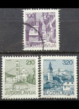 Jugoslavija ScNr 1245, 1248, 1249 Used(O)