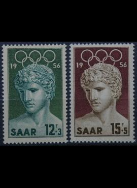 Saras, pilna serija MiNr 371-372 MNH**