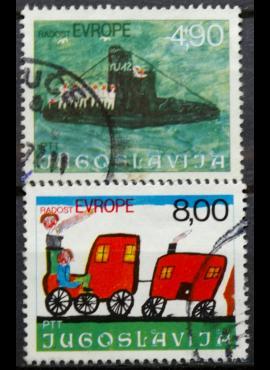 Jugoslavija, pilna serija ScNr 1314-1315 Used(O)