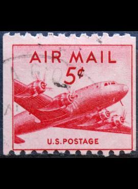 JAV, oro paštas ScNr C37 Used(O)