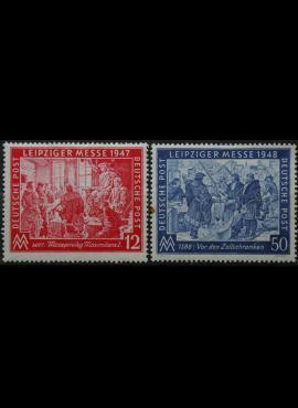 Pokario Vokietija, Sąjungininkų zona, pilna serija, MiNr 965-966 MH*