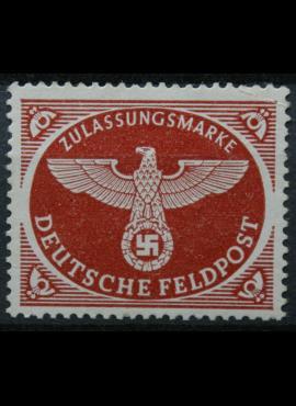 Vokietijos Reichas, oro paštas, MiNr 2 A MNH**