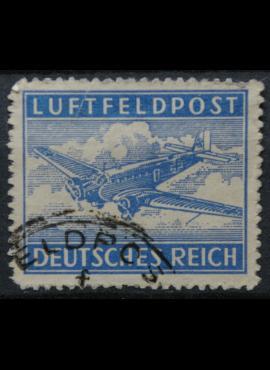 Vokietijos Reichas, oro paštas, MiNr 1 B Used(O)