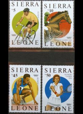 Siera Leonė, pilna serija MiNr 997-1000 MNH** V