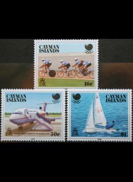 Kaimanų Salos, pilna serija MiNr 608-610 MNH** V