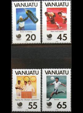 Vanuatu, pilna serija MiNr 793-796 MNH** V