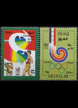Irakas, pilna serija MiNr 1424-1425 MNH** V