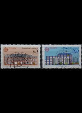 Vokietija, pilna serija MiNr 1461-1462 Used(O)