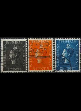 Nyderlandai, pilna serija ScNr 209-211 Used(O)