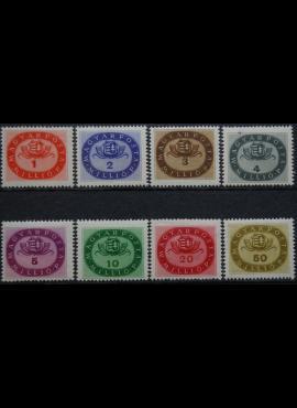 Vengrija, pilna serija ScNr 738-745 MLH*