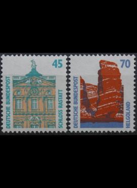 Vokietija, pilna serija, MiNr 1468-1469 MNH**