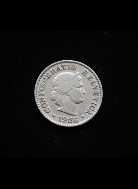 Šveicarija, 5 rapenai 1926m