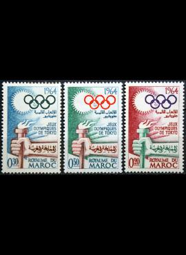 Marokas, pilna serija MiNr 538-540 MNH** V