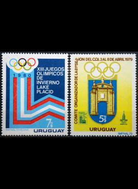 Urugvajus, pilna serija MiNr 1522-1523 MNH** V