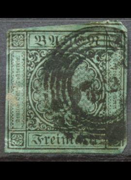 Senoji Vokietija, Badenas, 1858m, MiNr 8 Used(O)