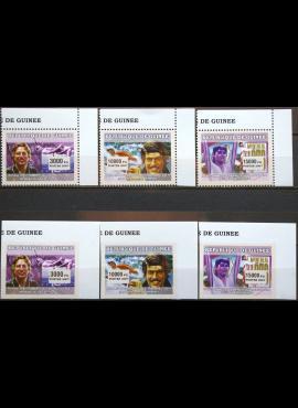 Gvinėja, pilna serija MiNr 4578-4580A ir B MNH** V