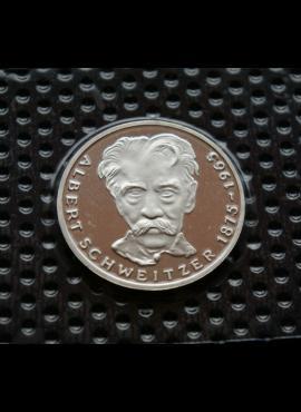 Vokietija, SIDABRINĖS 5 markės 1975m-G BU