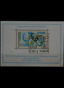 PHILATELIJA'83 suvenyris pašto ženklas