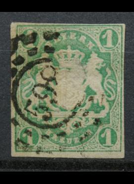 Senoji Vokietija, Bavarija, MiNr 14 Used (O)