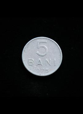 Rumunija, 5 baniai, 1975m