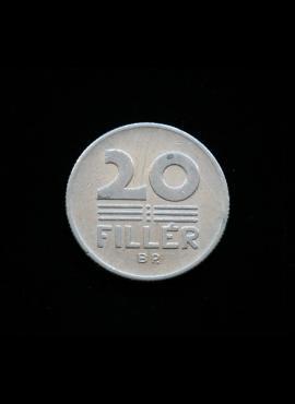Vengrija, 20 filerių, 1972m