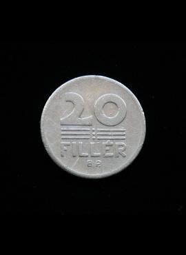 Vengrija, 20 filerių, 1971m
