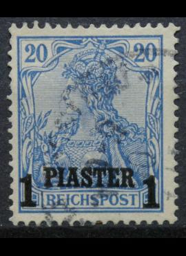 Vokietijos Reichas, Užsienio ir kolonijų paštas, Turkija, MiNr 14 II Used (O)