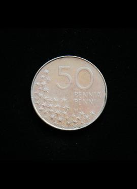 Suomija, 50 pensų 1992m