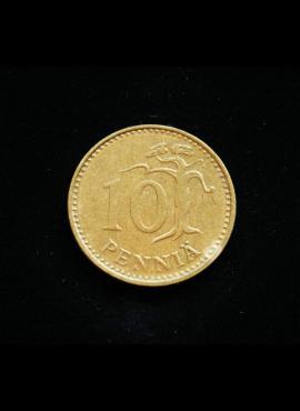 Suomija, 10 pensų 1981m