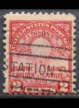 JAV ScNr 655 Used(O)