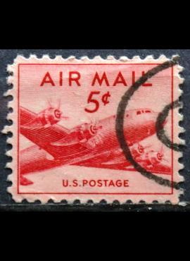 JAV, oro paštas ScNr C33 Used(O)