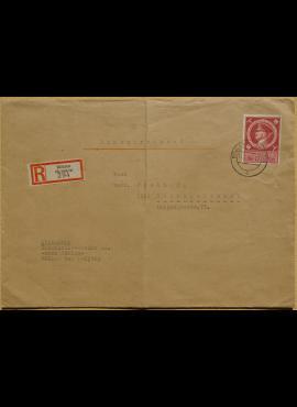 Vokietijos Reicho vokas, su MiNr 887 pašto ženklu