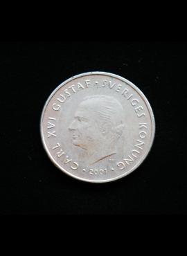 Švedija, 1 krona 2001m