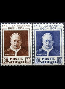 Vatikanas, pilna serija, MiNr 313-314 MNH**