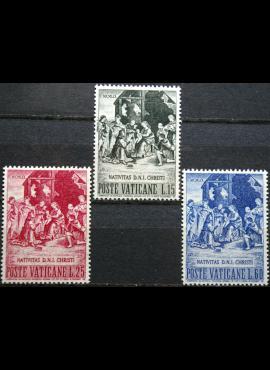 Vatikanas, pilna serija, MiNr 327-329 MNH**