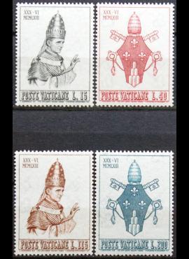 Vatikanas, pilna serija, MiNr 432-435 MNH**