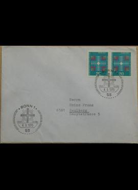 Vokietija 1970m pirmos dienos vokas su MiNr 648