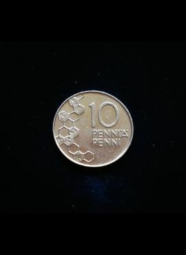 Suomija, 10 pensų 1991m