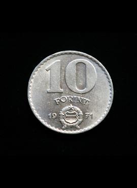 Vengrija, 10 forintų, 1971m