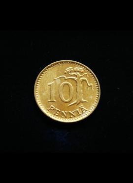 Suomija, 10 pensų 1980m
