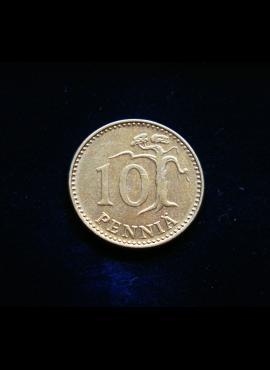 Suomija, 10 pensų 1978m
