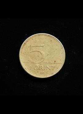 Vengrija, 5 forintai, 1994m