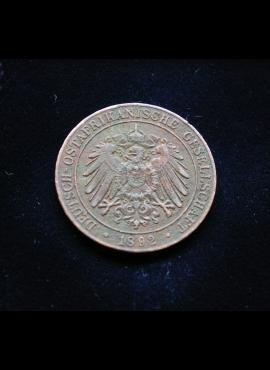 Vokietijos Rytų Afrika, 1 pesas 1892m E